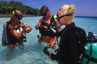baptême plongée sous marine