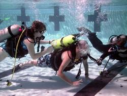 baptême de plongée piscine