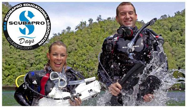 test équipements de plongée scubapro