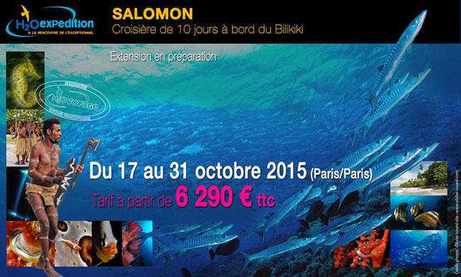 plongée salomons